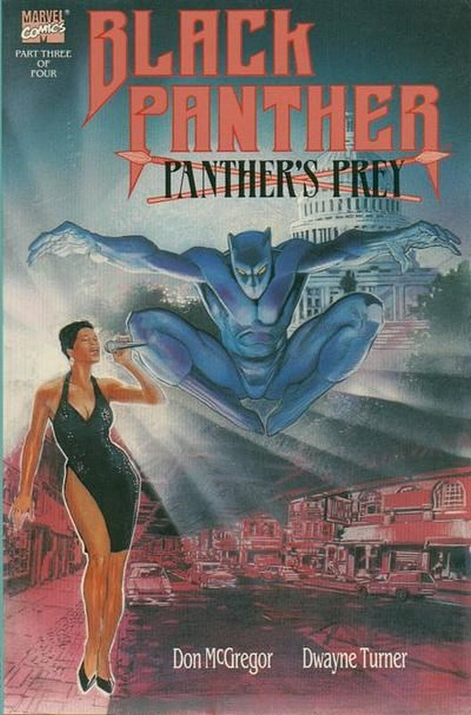 Cover of Black Panther: Panthers Prey (1991 Ltd) #3. One of 250,000 Vintage American Comics on sale from Krypton!