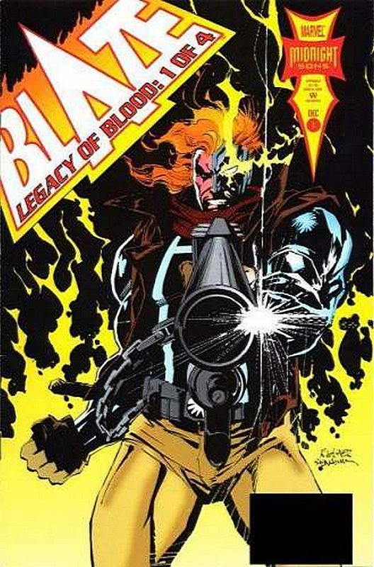 Cover of Blaze: Legacy of Blood (1993 Ltd) #1. One of 250,000 Vintage American Comics on sale from Krypton!