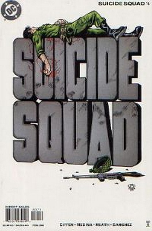 Cover of Suicide Squad (Vol 2) #4. One of 250,000 Vintage American Comics on sale from Krypton!