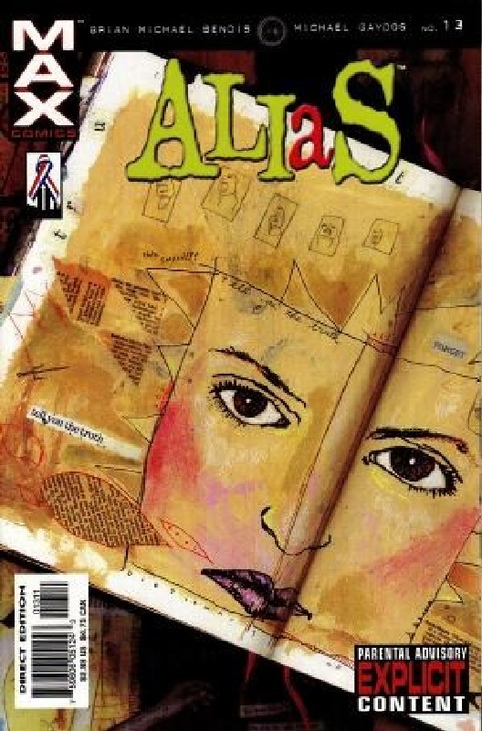 Cover of Alias (Vol 1) #13. One of 250,000 Vintage American Comics on sale from Krypton!