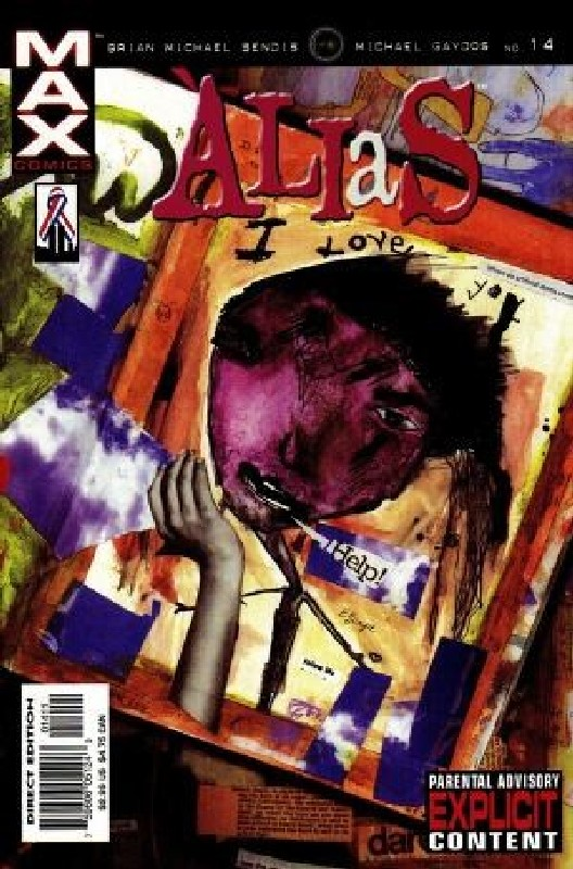 Cover of Alias (Vol 1) #14. One of 250,000 Vintage American Comics on sale from Krypton!