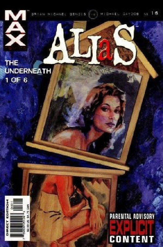 Cover of Alias (Vol 1) #16. One of 250,000 Vintage American Comics on sale from Krypton!