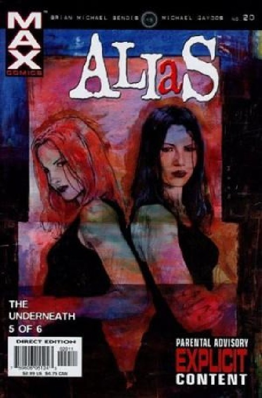 Cover of Alias (Vol 1) #20. One of 250,000 Vintage American Comics on sale from Krypton!