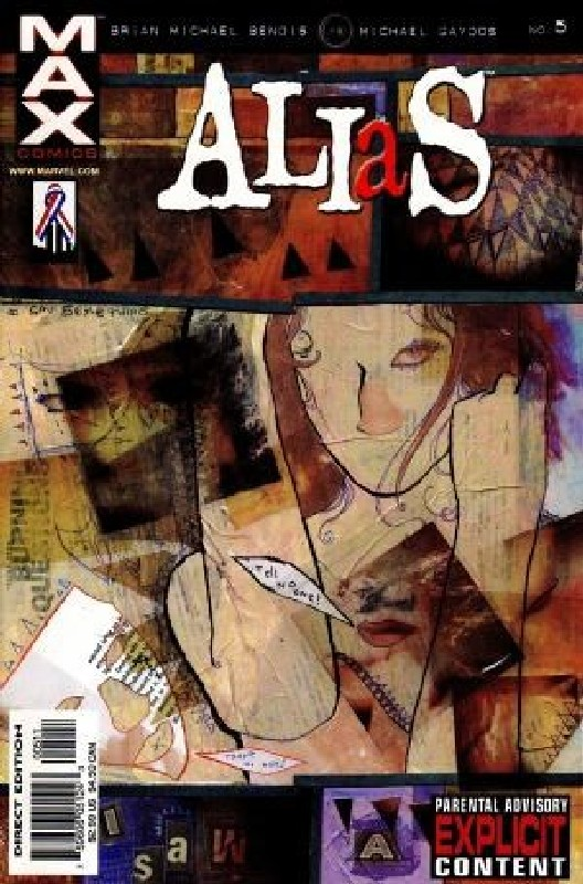 Cover of Alias (Vol 1) #5. One of 250,000 Vintage American Comics on sale from Krypton!