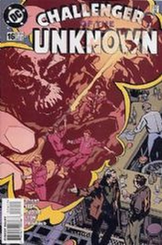 Cover of Challengers of the Unknown (Vol 2) #16. One of 250,000 Vintage American Comics on sale from Krypton!