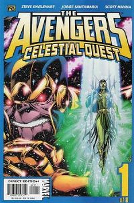 Cover of Avengers: Celestial Quest (2001 Ltd) #1. One of 250,000 Vintage American Comics on sale from Krypton!