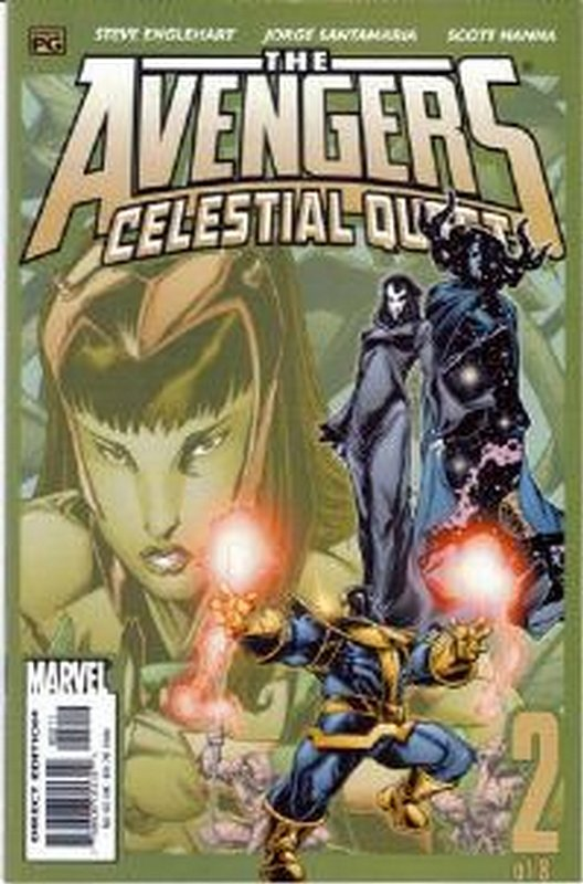 Cover of Avengers: Celestial Quest (2001 Ltd) #2. One of 250,000 Vintage American Comics on sale from Krypton!