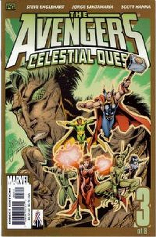 Cover of Avengers: Celestial Quest (2001 Ltd) #3. One of 250,000 Vintage American Comics on sale from Krypton!