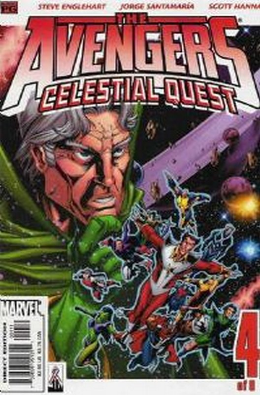 Cover of Avengers: Celestial Quest (2001 Ltd) #4. One of 250,000 Vintage American Comics on sale from Krypton!