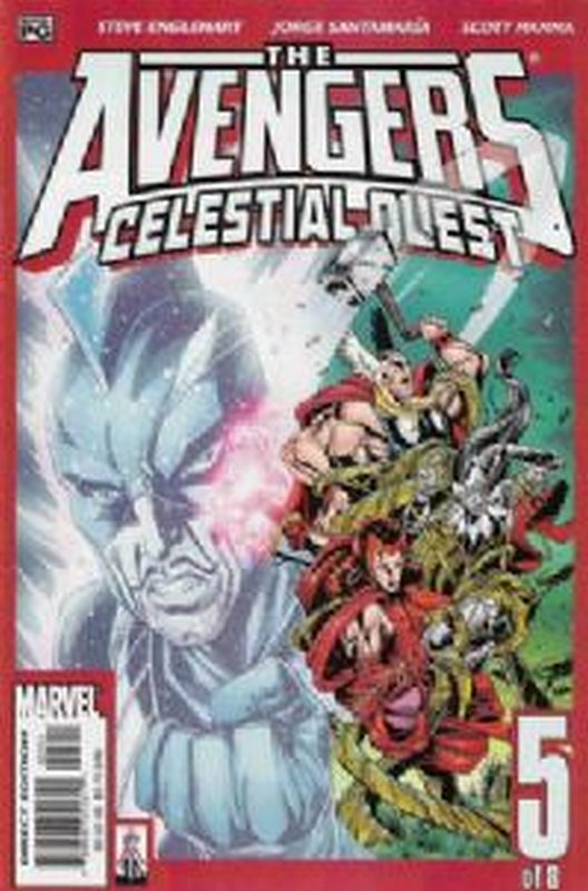 Cover of Avengers: Celestial Quest (2001 Ltd) #5. One of 250,000 Vintage American Comics on sale from Krypton!