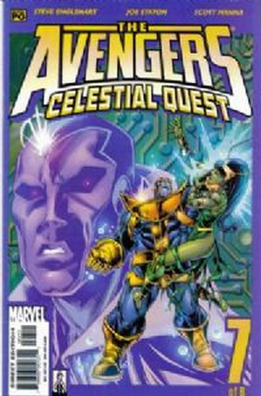 Cover of Avengers: Celestial Quest (2001 Ltd) #7. One of 250,000 Vintage American Comics on sale from Krypton!