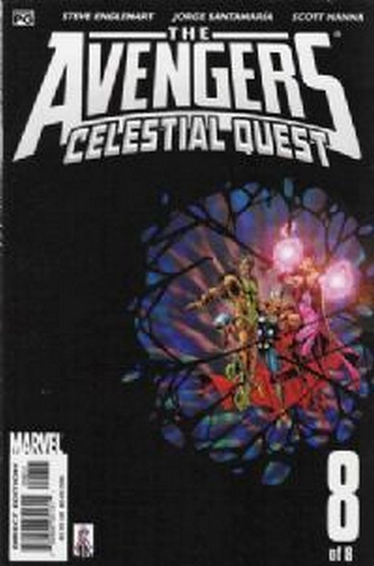 Cover of Avengers: Celestial Quest (2001 Ltd) #8. One of 250,000 Vintage American Comics on sale from Krypton!