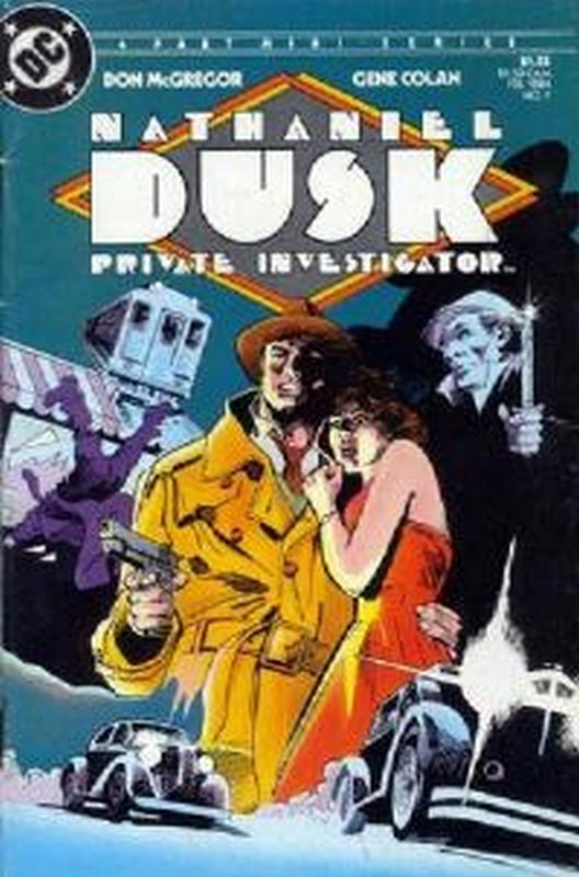 Cover of Nathaniel Dusk (1984 Ltd) #1. One of 250,000 Vintage American Comics on sale from Krypton!