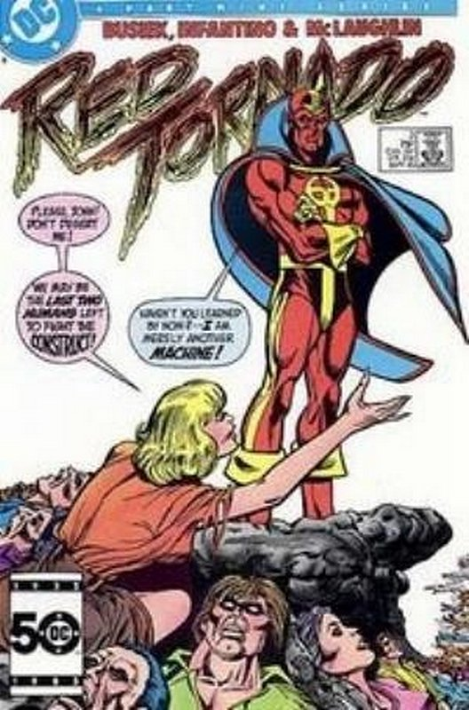Cover of Red Tornado (1985 Ltd) #3. One of 250,000 Vintage American Comics on sale from Krypton!