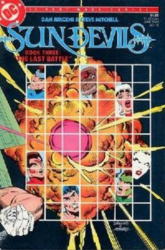 Cover of Sun Devils (1984 Ltd) #12. One of 250,000 Vintage American Comics on sale from Krypton!