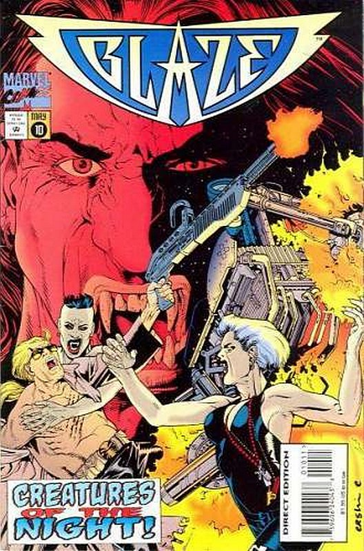 Cover of Blaze (Vol 1) #10. One of 250,000 Vintage American Comics on sale from Krypton!