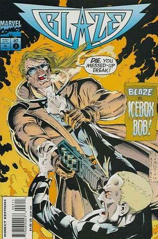Cover of Blaze (Vol 1) #3. One of 250,000 Vintage American Comics on sale from Krypton!