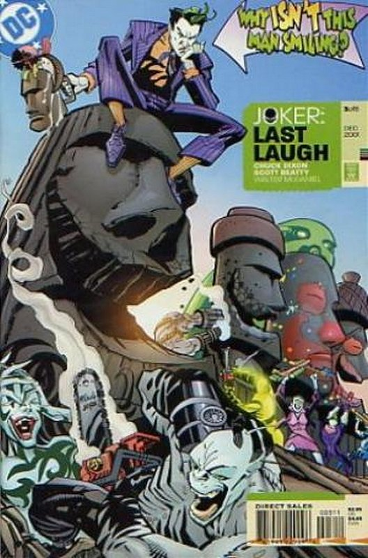 Cover of Joker: Last Laugh (2001 Ltd) #3. One of 250,000 Vintage American Comics on sale from Krypton!