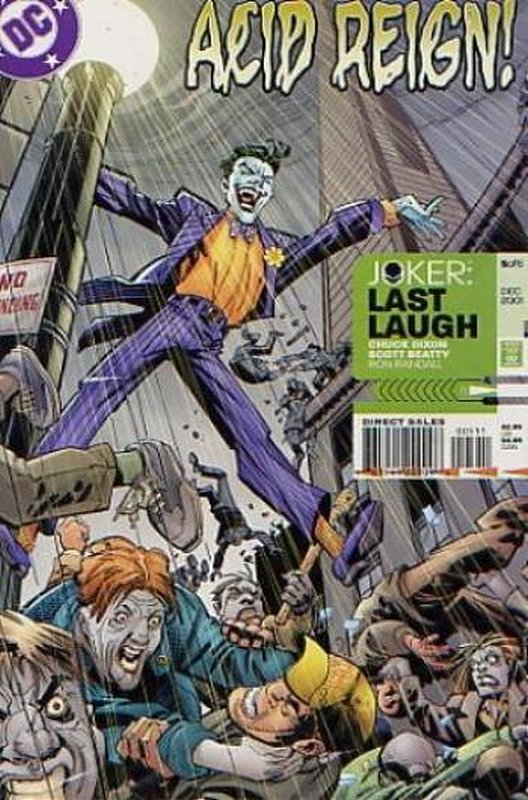 Cover of Joker: Last Laugh (2001 Ltd) #5. One of 250,000 Vintage American Comics on sale from Krypton!
