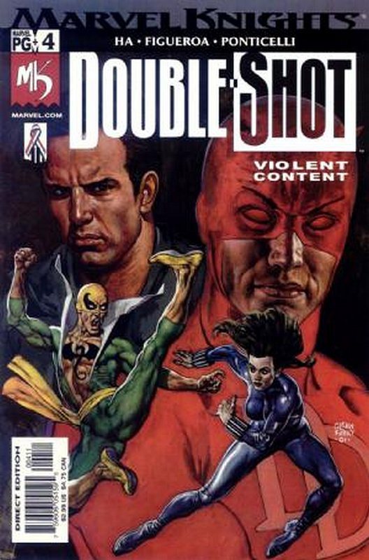 Cover of Marvel Knights Double Shot (2001 Ltd) #4. One of 250,000 Vintage American Comics on sale from Krypton!
