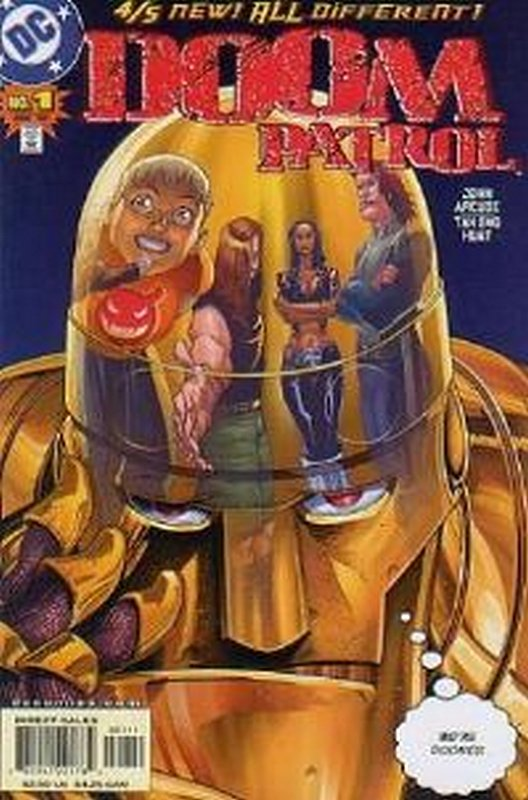 Cover of Doom Patrol (Vol 3) #1. One of 250,000 Vintage American Comics on sale from Krypton!