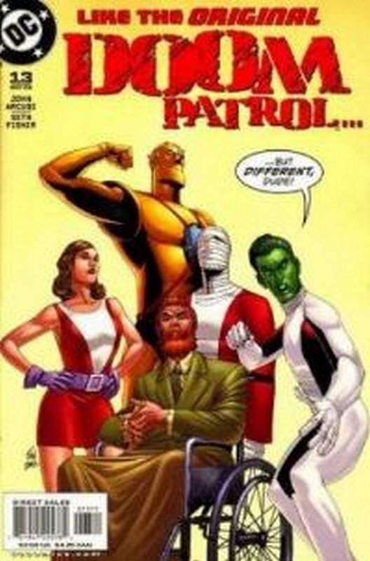 Cover of Doom Patrol (Vol 3) #13. One of 250,000 Vintage American Comics on sale from Krypton!