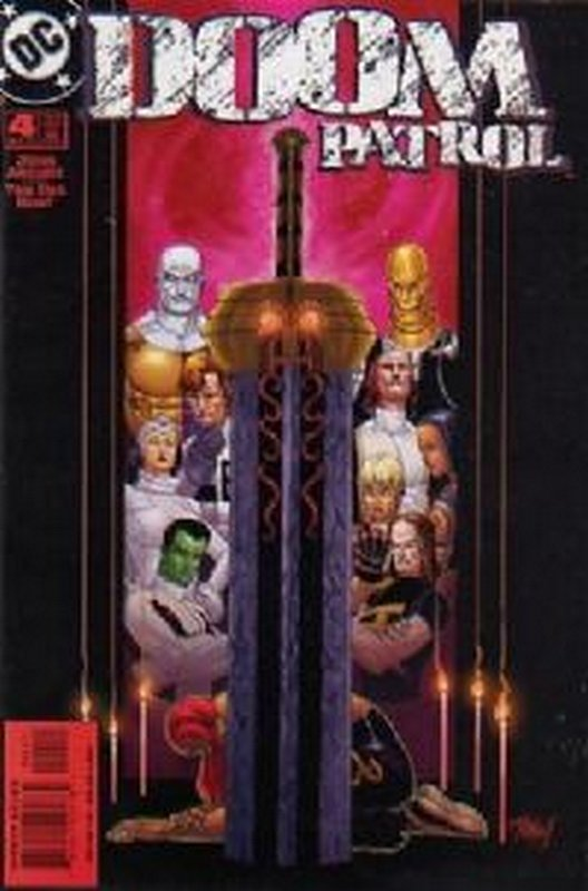 Cover of Doom Patrol (Vol 3) #4. One of 250,000 Vintage American Comics on sale from Krypton!