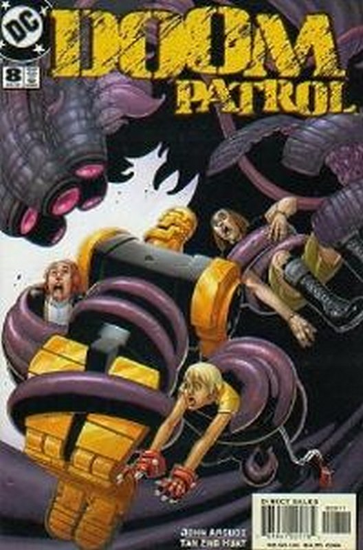 Cover of Doom Patrol (Vol 3) #8. One of 250,000 Vintage American Comics on sale from Krypton!