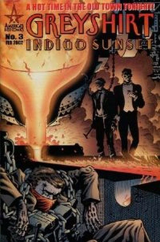 Cover of Greyshirt: Indigo Sunset (2001 Ltd) #3. One of 250,000 Vintage American Comics on sale from Krypton!