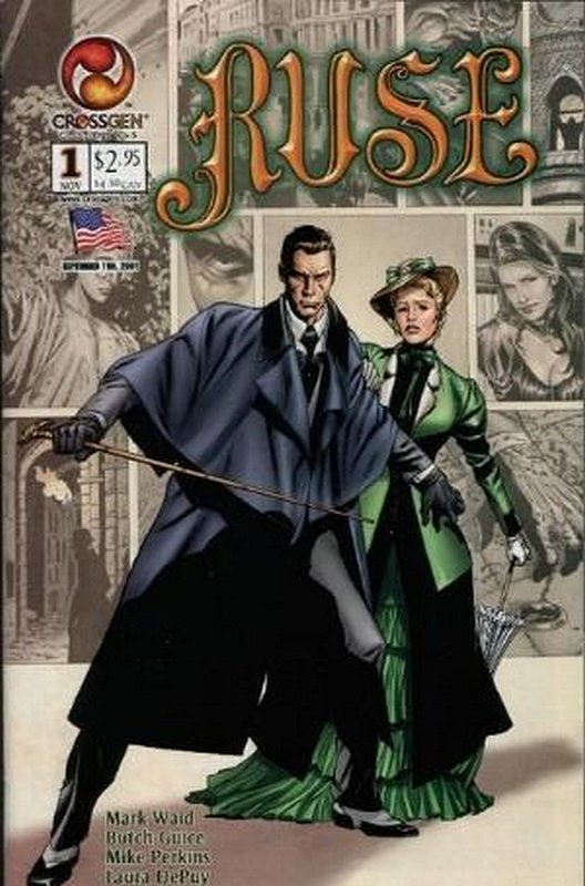 Cover of Ruse (Vol 1) #1. One of 250,000 Vintage American Comics on sale from Krypton!
