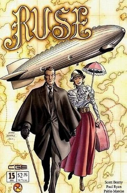 Cover of Ruse (Vol 1) #15. One of 250,000 Vintage American Comics on sale from Krypton!