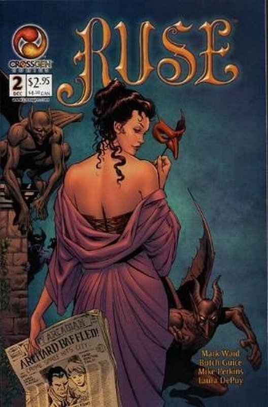 Cover of Ruse (Vol 1) #2. One of 250,000 Vintage American Comics on sale from Krypton!