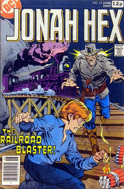 Cover of Jonah Hex (Vol 1) #13. One of 250,000 Vintage American Comics on sale from Krypton!