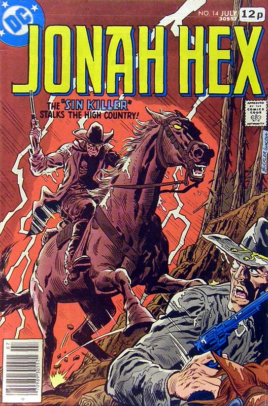 Cover of Jonah Hex (Vol 1) #14. One of 250,000 Vintage American Comics on sale from Krypton!