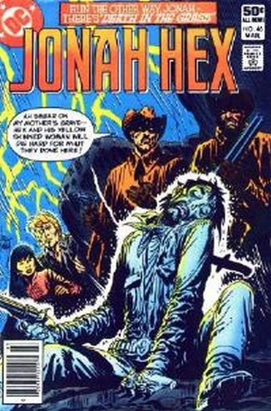 Cover of Jonah Hex (Vol 1) #46. One of 250,000 Vintage American Comics on sale from Krypton!