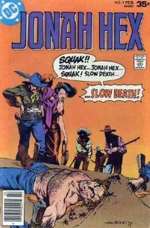 Cover of Jonah Hex (Vol 1) #9. One of 250,000 Vintage American Comics on sale from Krypton!