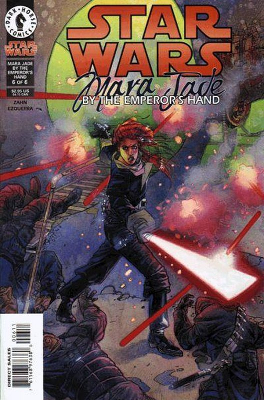 Cover of Star Wars: Mara Jade - Emperors Hand #6. One of 250,000 Vintage American Comics on sale from Krypton!