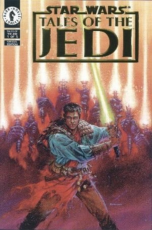 Cover of Star Wars: Tales of the Jedi (1993 Ltd) #1. One of 250,000 Vintage American Comics on sale from Krypton!