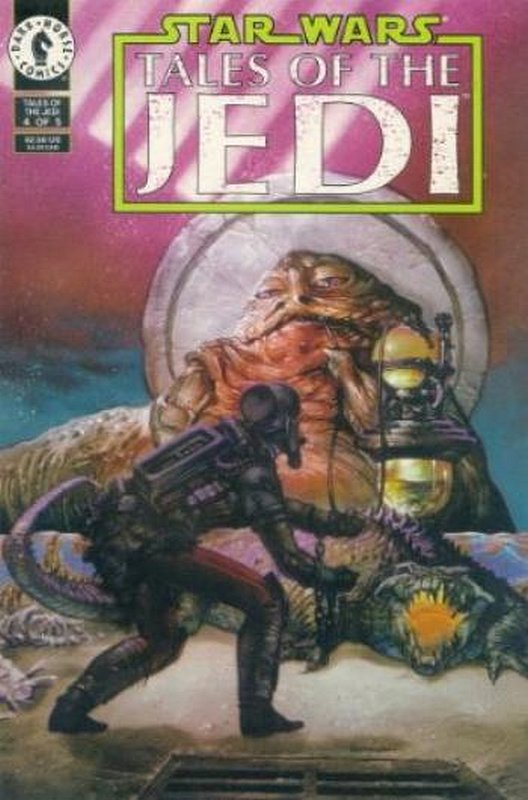 Cover of Star Wars: Tales of the Jedi (1993 Ltd) #4. One of 250,000 Vintage American Comics on sale from Krypton!