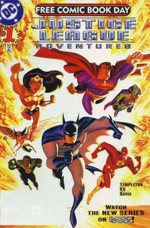 Cover of Justice League Adventures (Vol 1) #1. One of 250,000 Vintage American Comics on sale from Krypton!