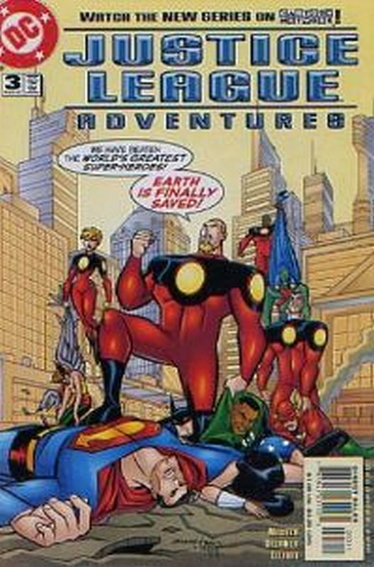 Cover of Justice League Adventures (Vol 1) #3. One of 250,000 Vintage American Comics on sale from Krypton!
