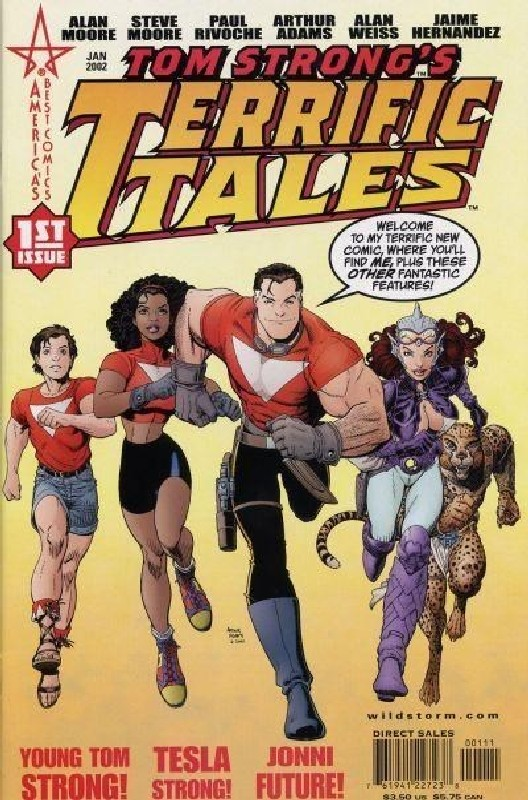 Cover of Tom Strongs Terrific Tales #1. One of 250,000 Vintage American Comics on sale from Krypton!