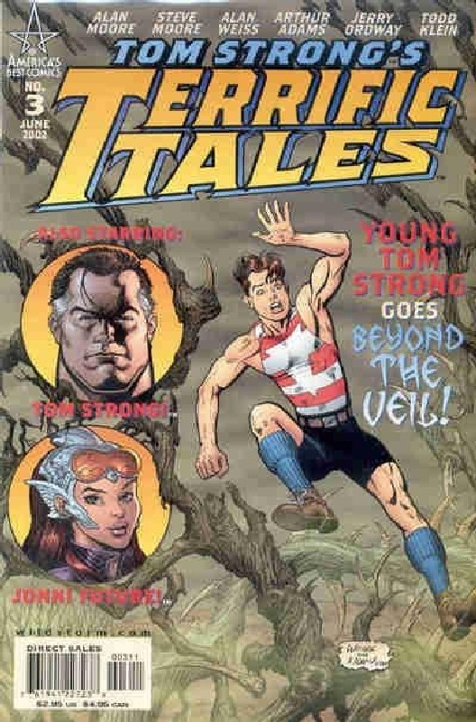 Cover of Tom Strongs Terrific Tales #3. One of 250,000 Vintage American Comics on sale from Krypton!