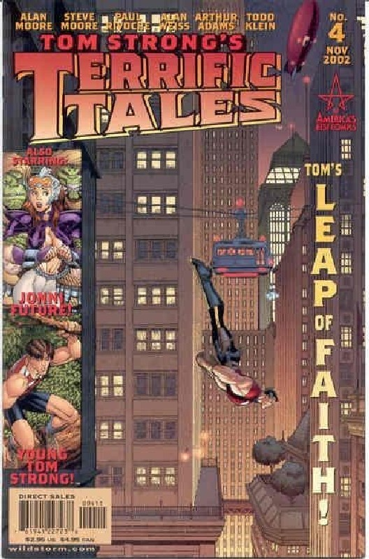 Cover of Tom Strongs Terrific Tales #4. One of 250,000 Vintage American Comics on sale from Krypton!