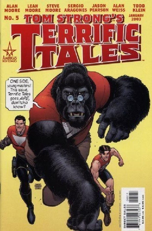Cover of Tom Strongs Terrific Tales #5. One of 250,000 Vintage American Comics on sale from Krypton!