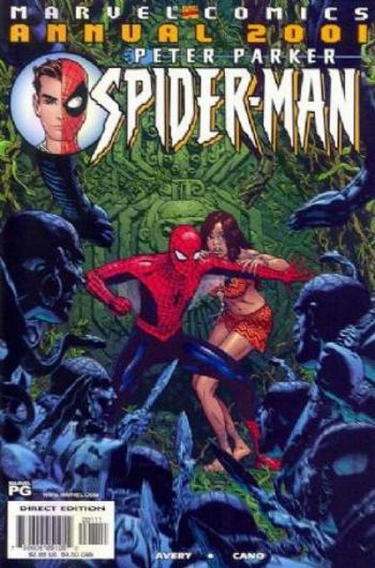 Cover of Peter Parker Spider-Man Annual 2001 #2001. One of 250,000 Vintage American Comics on sale from Krypton!