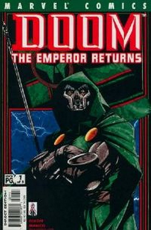 Cover of Doom: The Emperor Returns (2001 Ltd) #1. One of 250,000 Vintage American Comics on sale from Krypton!