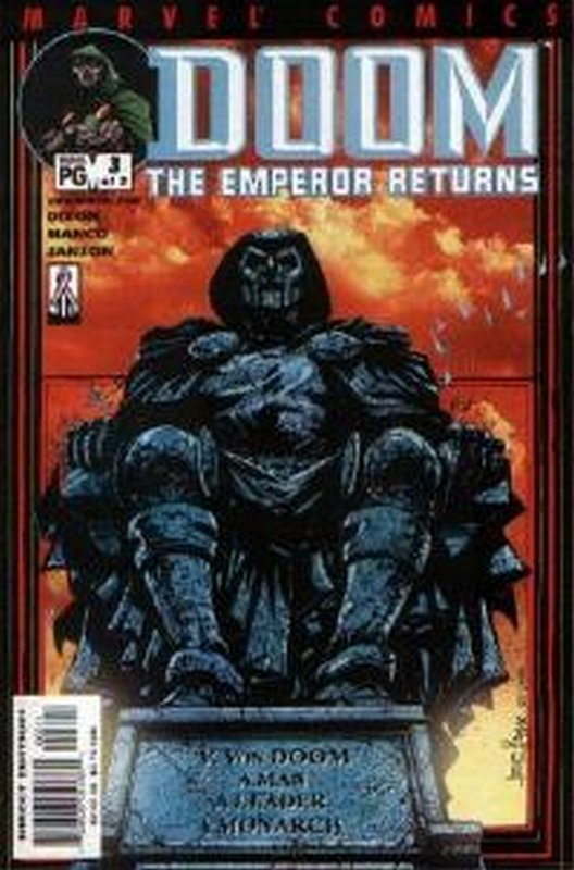 Cover of Doom: The Emperor Returns (2001 Ltd) #3. One of 250,000 Vintage American Comics on sale from Krypton!