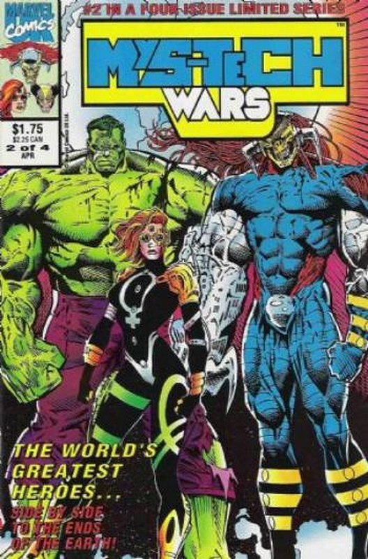 Cover of Mys-Tech Wars (1993 Ltd) #2. One of 250,000 Vintage American Comics on sale from Krypton!
