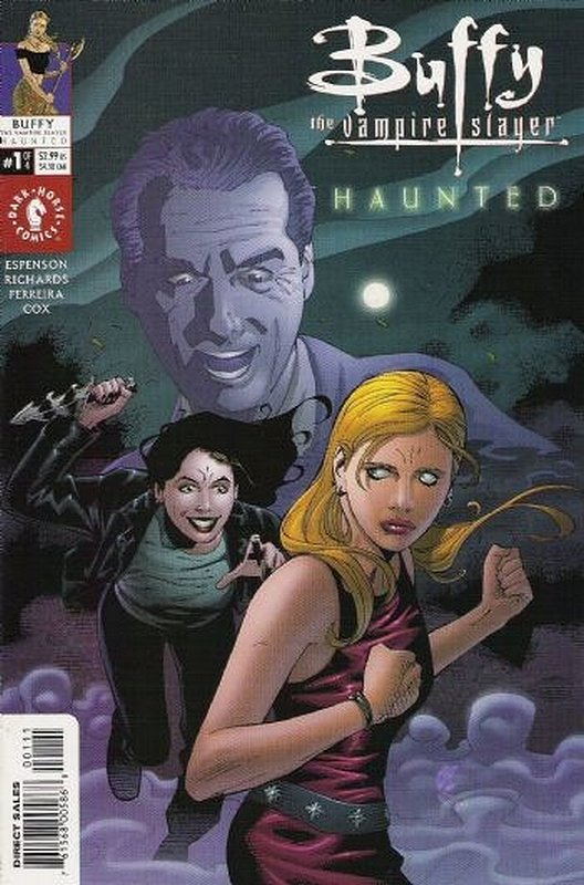 Cover of Buffy the Vampire Slayer: Haunted (2001 Ltd) #1. One of 250,000 Vintage American Comics on sale from Krypton!